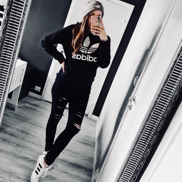 Adidas Womens Originals Trefoil Knit Beanie b916972d5b